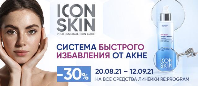 Скидка 30% на Icon Skin
