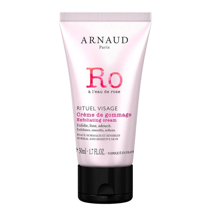 ARNAUD PARIS Крем-гоммаж для лица RITUEL VISAGE с розовой водой