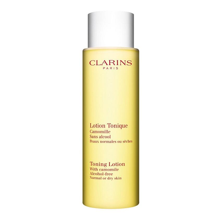 CLARINS Тонизирующий лосьон с экстрактом ромашки для нормальной/сухой кожи.