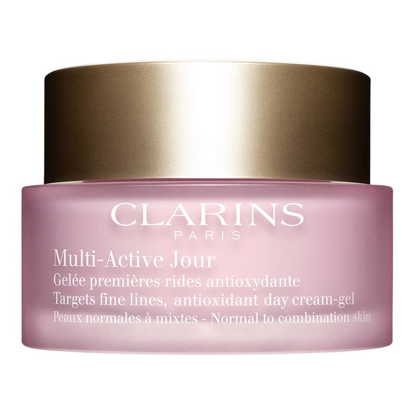 CLARINS Дневной гель для предотвращения первых возрастных изменений с антиоксидантным действием для нормальной и комбинированной кожи MULTI-ACTIVE.