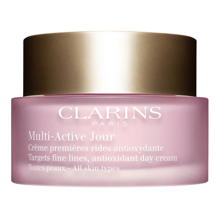 CLARINS Дневной крем для предотвращения первых возрастных изменений с антиоксидантным действием для любого типа кожи MULTI-ACTIVE.