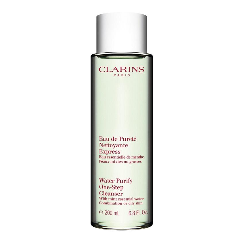 Купить CLARINS Очищающая вода для комбинированной или жирной кожи с экстрактом мяты