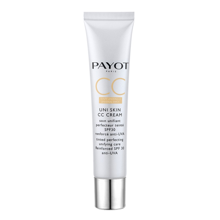 PAYOT Выравнивающее совершенствующее тонирующее средство Uni Skin CC Cream