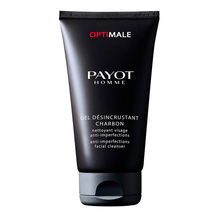 PAYOT Гель для лица очищающий с частицами угля и минералов против несовершенств кожи