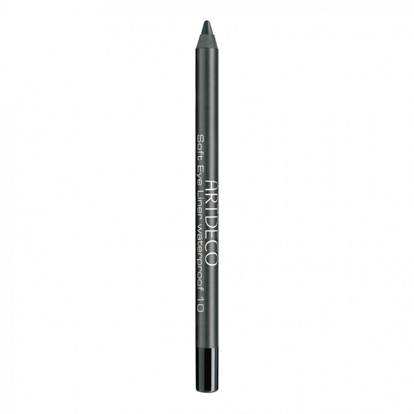 ARTDECO Водостойкий контурный карандаш для глаз Soft Eye Liner № 10 Вlack, 1.2 г artdeco карандаш для век водостойкий soft eye liner waterproof тон 10 1 2 г