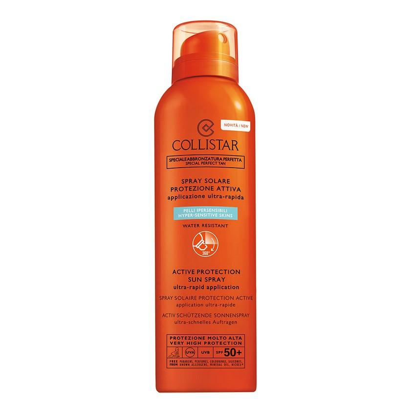COLLISTAR Активный солнцезащитный спрей SPF50+