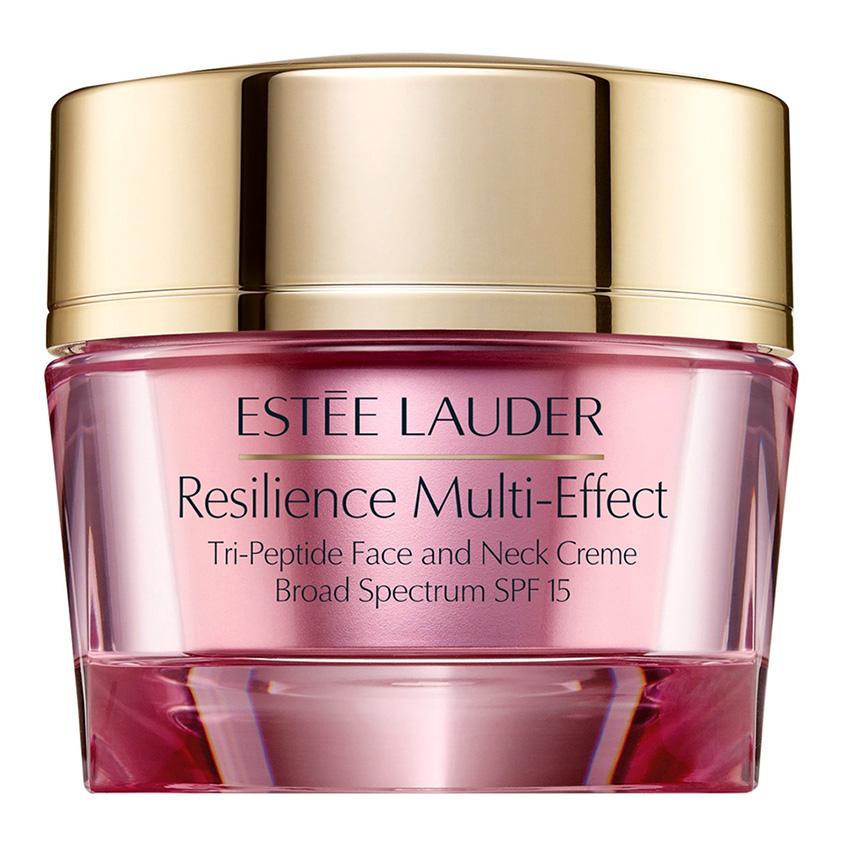 ESTEE LAUDER Крем для лица дневной лифтинговый повышающий упругость кожи Resilience Multi-effect SPF15 для сухой кожи