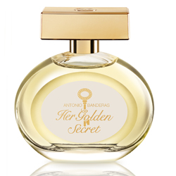 ANTONIO BANDERAS ANTONIO BANDERAS Her Golden Secret Туалетная вода, спрей 80 мл antonio banderas her secret w edt 80 мл