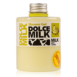 DOLCE MILK Гель для душа Молоко и грушевый тарт с ванилью 300 мл