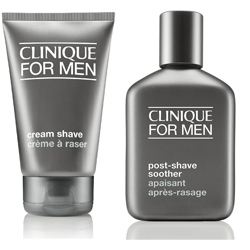 CLINIQUE Набор для бритья Great Shave Set 125 мл + 75 мл