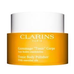 CLARINS CLARINS Скраб для тела с эфирными маслами Tonic 250 мл спреи organiczone дезодорант для тела с эфирными маслами чайное дерево