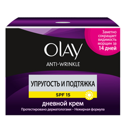 OLAY ���� ��� ���� ������� Anti Wrinkle ��������� � �������� SPF15 50 ��