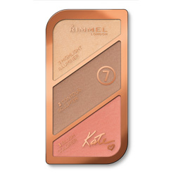 RIMMEL Палетка для лица Kate Face Sculpting № 001 Light