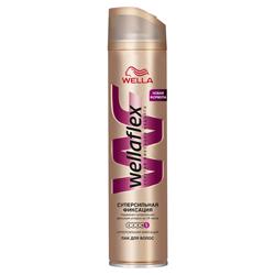 WELLA WELLA Лак для волос супер-сильной фиксации Wellaflex 400 мл недорого