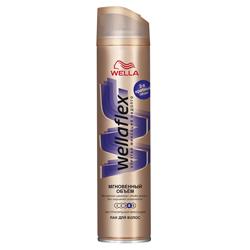 WELLA Лак для волос Wellaflex Мгновенный объем 250 мл лак для волос объем и восстано wella лак для волос объем и восстано