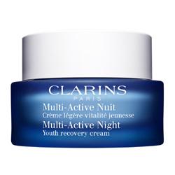 CLARINS Ночной крем для борьбы с первыми возрастными изменениями для нормальной и комбинированной кожи Multi-Active