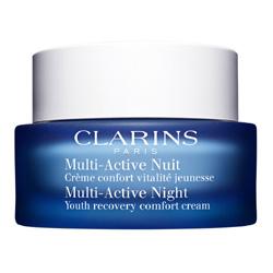 CLARINS Ночной крем для борьбы с первыми возрастными изменениями для нормальной и сухой кожи Multi-Active