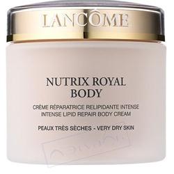 LANCOME Питательный и увлажняющий крем для тела Nutrix Royal Body 200 мл