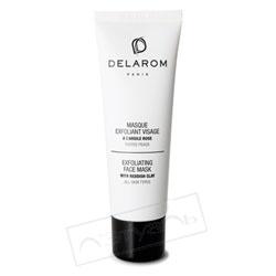 DELAROM Маска-эксфолиант для лица с розовой глиной 50 мл