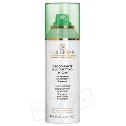 COLLISTAR Сухой дезодорант-спрей с микроволокнами хлопка 24H 125 мл