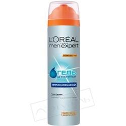 L`OREAL Гель для бритья против раздражений 200 мл l oreal men expert лосьон после бритья мгновенный комфорт для чувствительной кожи 100мл