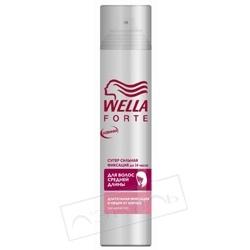 WELLA Лак для волос супер-сильная фиксация для волос средней длины WellaForte