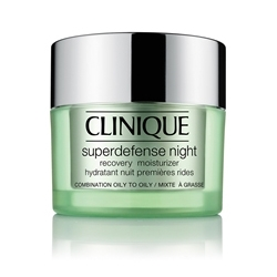 CLINIQUE ������ ����������������� ����������� ���� Superdefense Night Recovery Moisturizer ��� ������ � �������� � �������� ���� 50 ��