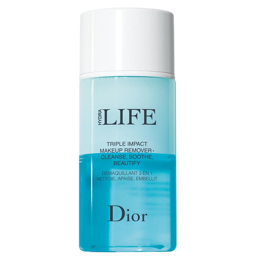 Купить DIOR Средство для снятия макияжа с глаз, губ и бровей с тройным действием Dior Hydra Life bi-phasic make-up remover