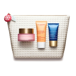 CLARINS Набор для ухода за кожей лица Clarins Multi-Active Collection 50 мл + 30 мл + 15 мл + 1 шт