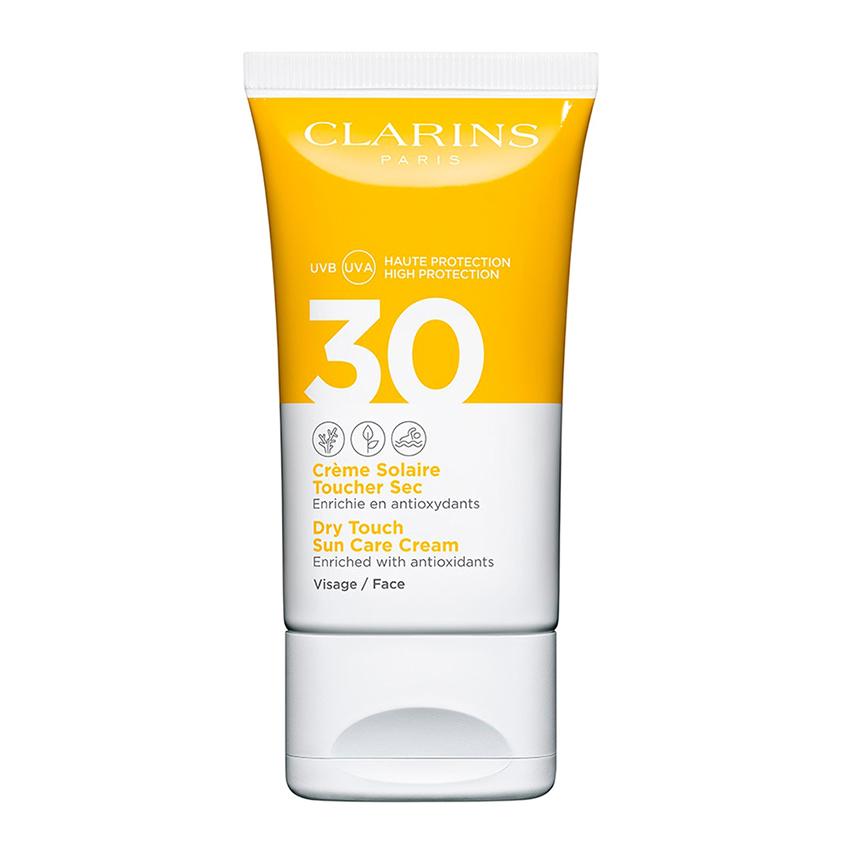 CLARINS Солнцезащитный крем для лица SPF 30 фото