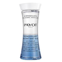 Купить PAYOT Средство двухфазное для снятия водостойкого макияжа с глаз и губ с экстрактом малины 125 мл