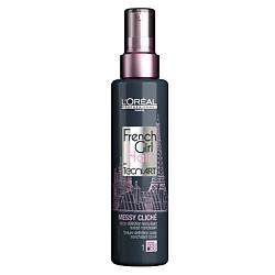 L'OREAL PROFESSIONNEL Спрей для придания текстуры волосам Techni Art French Girl Messy Clich? 150 мл лак для волос l'oréal professionnel лореаль профессионал текни арт спрей эр фикс спрей 250 мл