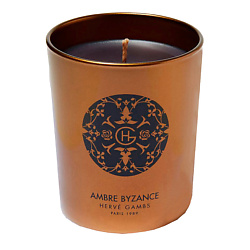 HERVE GAMBS Ambre Byzance Fragranced Candle Парфюмированная свеча 190 г