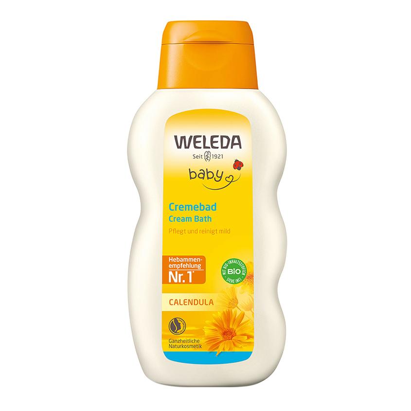 WELEDA Детское молочко для купания Calendula