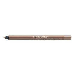 MISSLYN Водостойкий карандаш для бровей soft eyebrow liner waterprof № 8 Ebony, 1.2 г misslyn misslyn водостойкий карандаш для бровей soft eyebrow liner waterprof 8 ebony 1 2 г