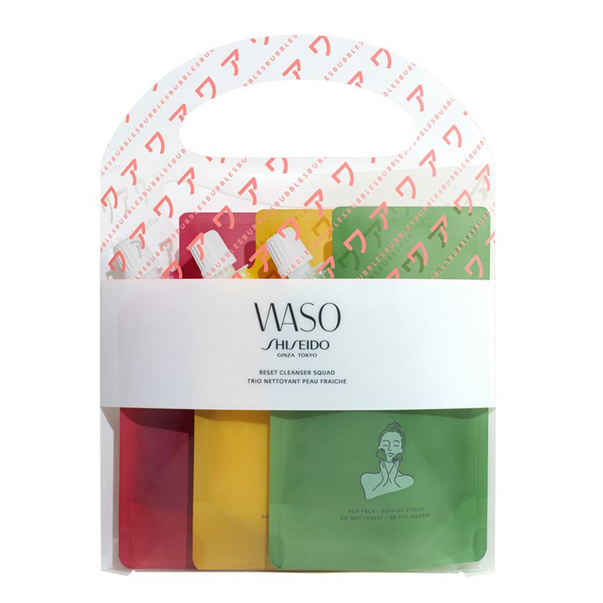 Купить SHISEIDO Набор очищающих гелей для лица Waso Reset Cleanser squad