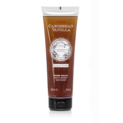 PERLIER Крем-пена 2в1 Caribbean Vanilla 250 мл