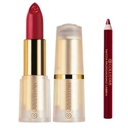 COLLISTAR Губная помада Puro lipstick + карандаш для губ Professional 69 Passionate Pink 4.5 мл + 9 rosa passionale 1.2 мл