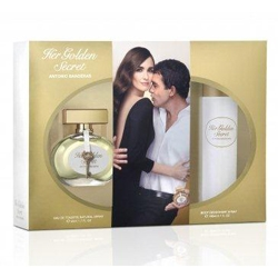 ANTONIO BANDERAS Подарочный набор Her Golden Secret'2014