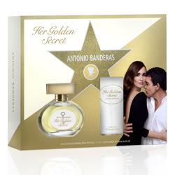 ANTONIO BANDERAS Подарочный набор Her Golden Secret