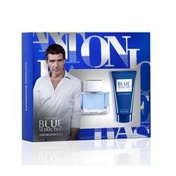 ANTONIO BANDERAS Подарочный набор Blue Seduction Туалетная вода, спрей 50 мл + гель после бритья 50 мл