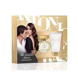 ANTONIO BANDERAS Подарочный набор Her Golden Secret Туалетная вода, спрей 50 мл + лосьон для тела 50 мл