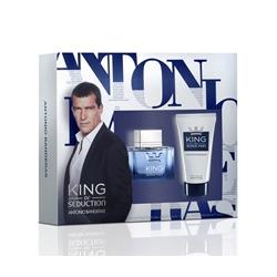 ANTONIO BANDERAS Подарочный набор King of Seduction Туалетная вода, спрей 50 мл + бальзам после бритья 50 мл