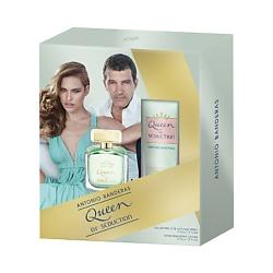 ANTONIO BANDERAS Подарочный набор Queen of Seduction Туалетная вода, спрей 50 мл + Лосьон для тела 50 мл