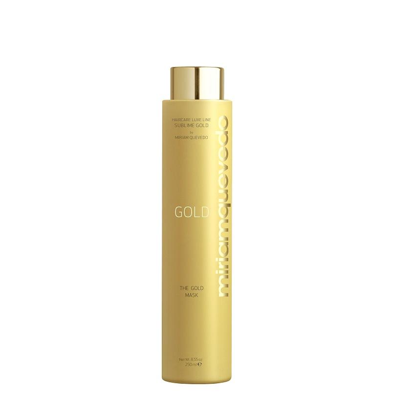 MIRIAM QUEVEDO Маска для волос с микронизированным золотом The Gold.