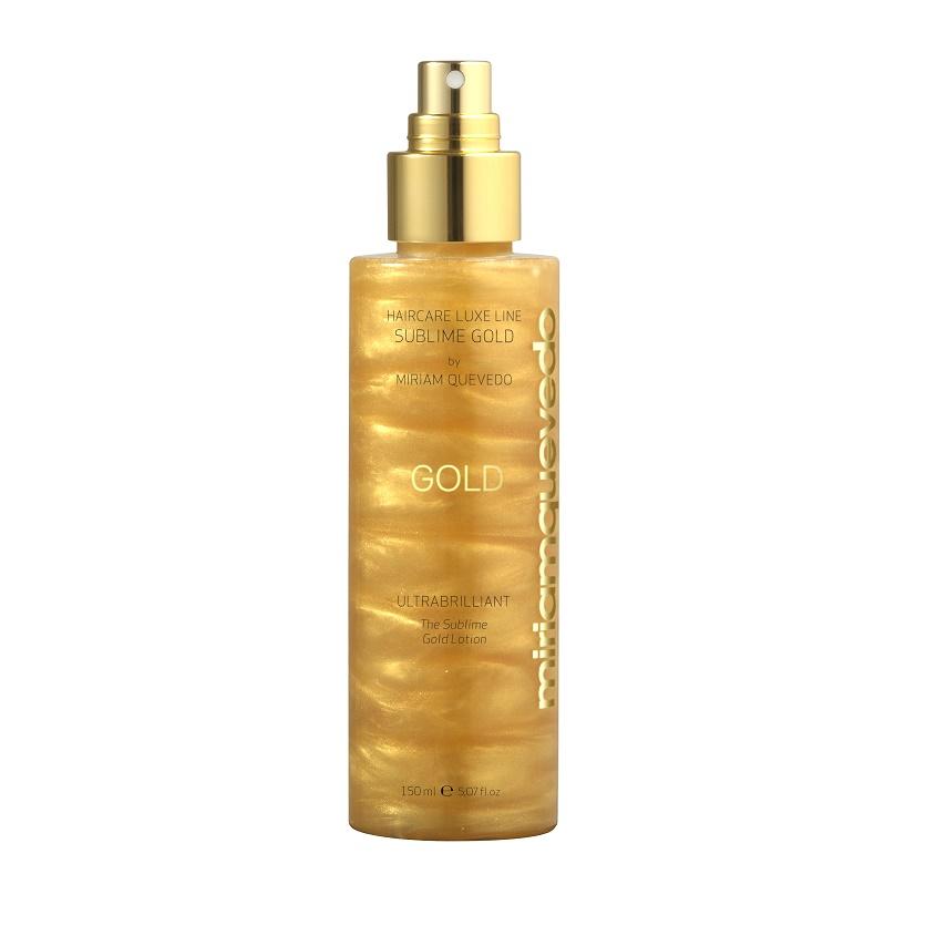 MIRIAM QUEVEDO Спрей для блеска волос с микронизированным золотом The Sublime Gold.