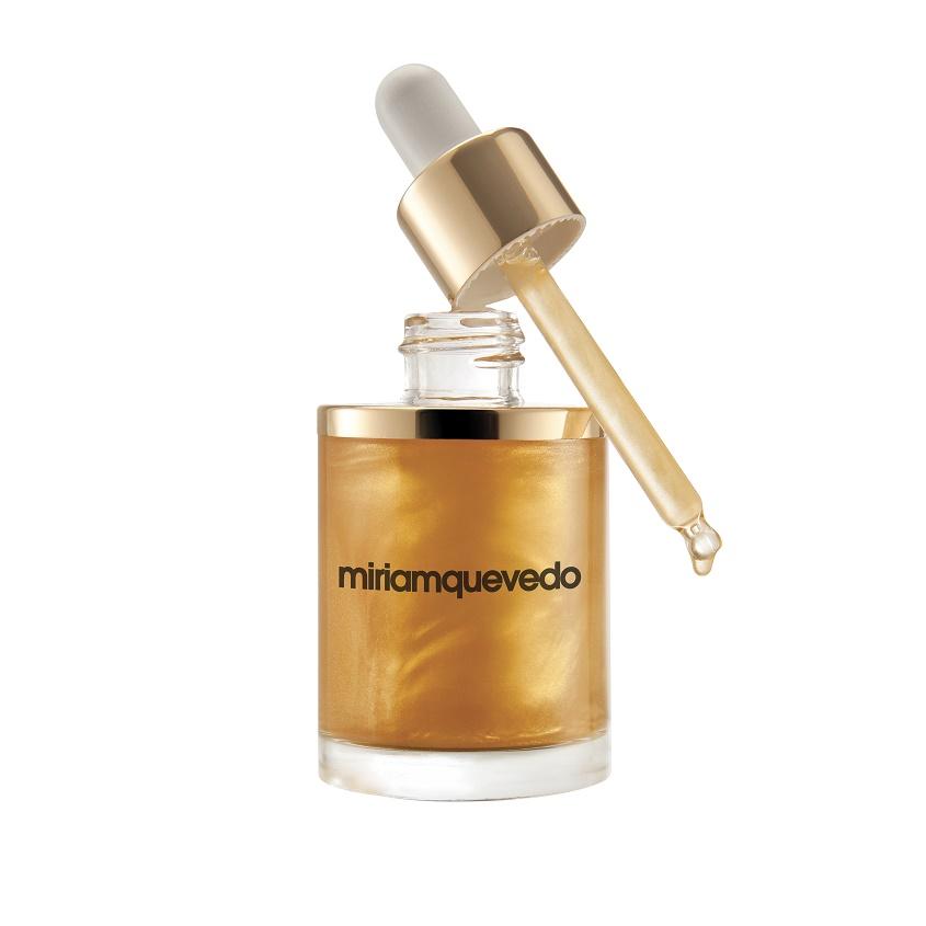 MIRIAM QUEVEDO Масло для волос с микронизированным золотом The Sublime Gold.