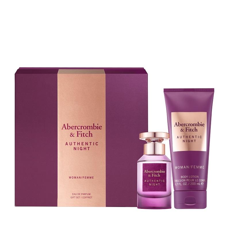 ABERCROMBIE & FITCH Подарочный набор Authentic Night Women
