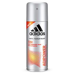Купить со скидкой ADIDAS Антиперспирант аэрозоль для мужчин adipower 72ч 150 мл