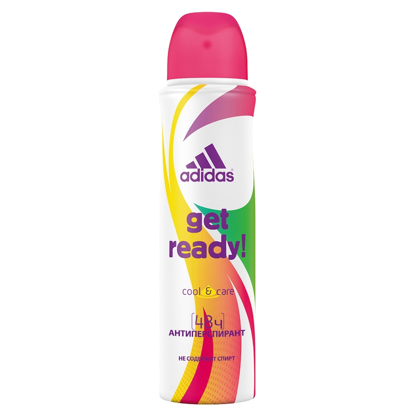 ADIDAS Дезодорант-спрей  Get Ready! Women.